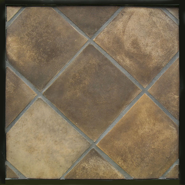 10x10 Artillo Tuscan Mustard (classic series)Laticrete 24 Natural Gray Grout