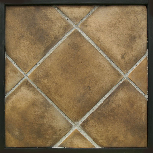 12x12 Artilo Tuscan Mustard(classic series)Laticrete 24 natural Gray Grout