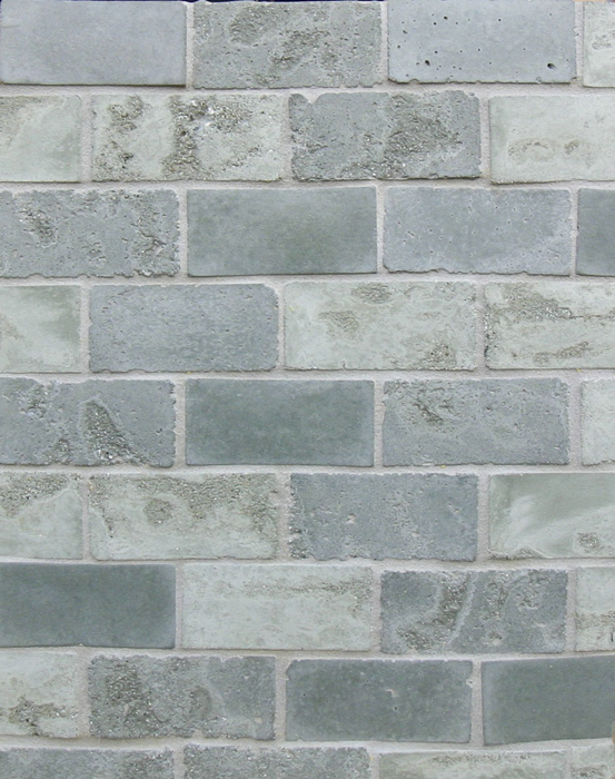 2x4 Artillo Ocean Green Vintage(premium series)Laticrete 24 Natural Gray Grout