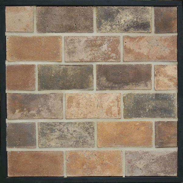 4x8 Smooth Brick Normandy Cream(signature series)Laticrete 81 Butter Cream Grout