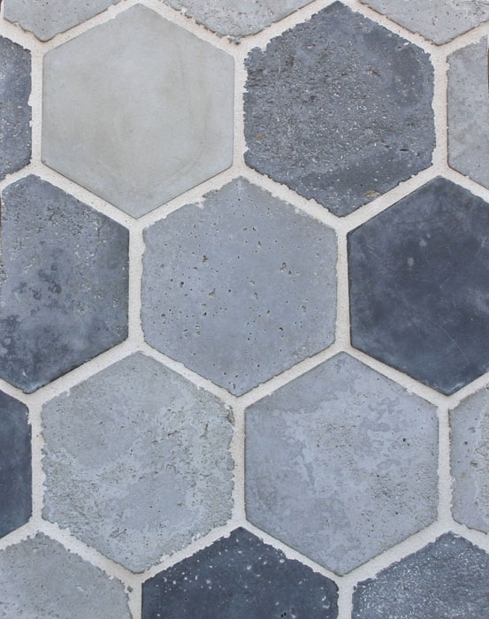 Portland Blend-Natural Gray, Sidewalk Gray and Charcoal Gray(signature series) Vintage-Laticrete 18 Sauterne Grout