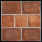 8x12 8x8 Artillo Cotto Dark (classic series) Laticrete 24 Natural Gray Grout