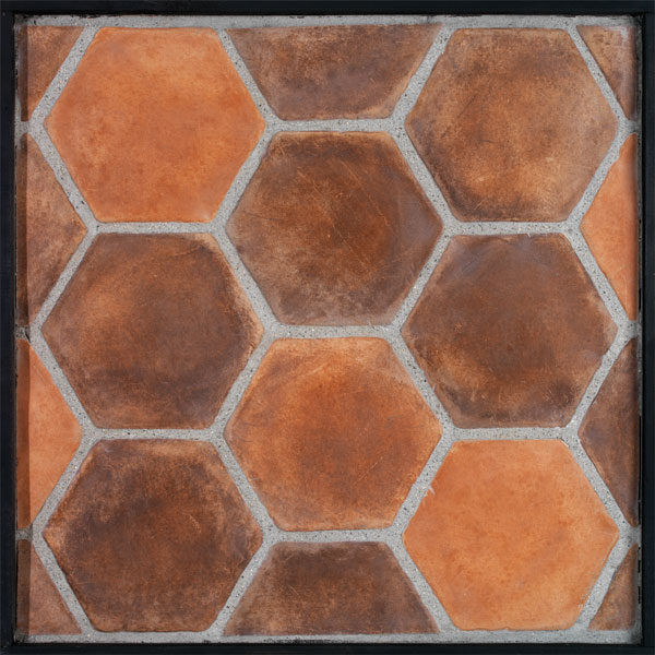 8x8 Hexagon Spanish Cotto