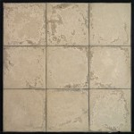 8x8 Roman Tile Hacienda(premium series) Limestone-Laticrete 24 Natural Gray Grout