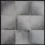 8x8 Roman Tile Antik Gray(premium series)Laticrete 24 Natural Gray Grout