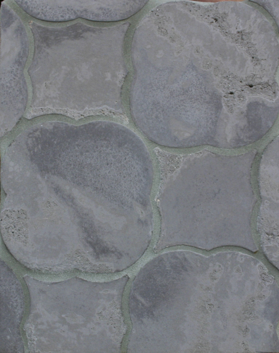 Arabesque Pattern 1 Charley Brown (premium series) Limestone-Laticrete 24 Natural Gray Grout