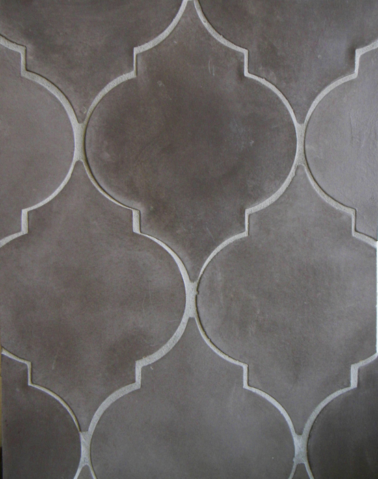 Arabesque Pattern 5a Charley Brown(premium series)Laticrete 24 Natural Gray Grout