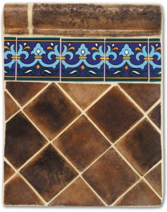 Hand Crafted  Floor Tile