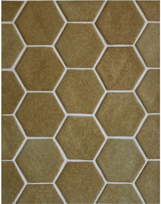 BB144- 4'' Oleson Hexagon- Yellowstone