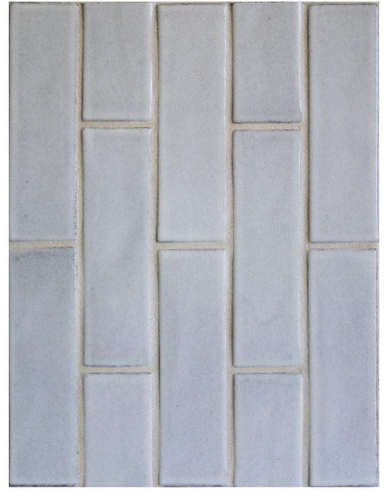 BB148 3x9 Oleson Great White-Grout Used: Laticrete 18 Sauterne