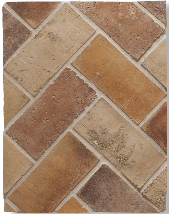 4x8 Smooth Brick Creme Fraiche Vintage(signature series) Laticrete Grout used: 18 Sauterne