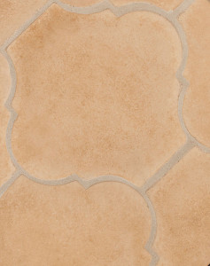 BB98 12x13 San Felipe Caqui (premium series)Laticrete Grout Used:24 Natural Gray