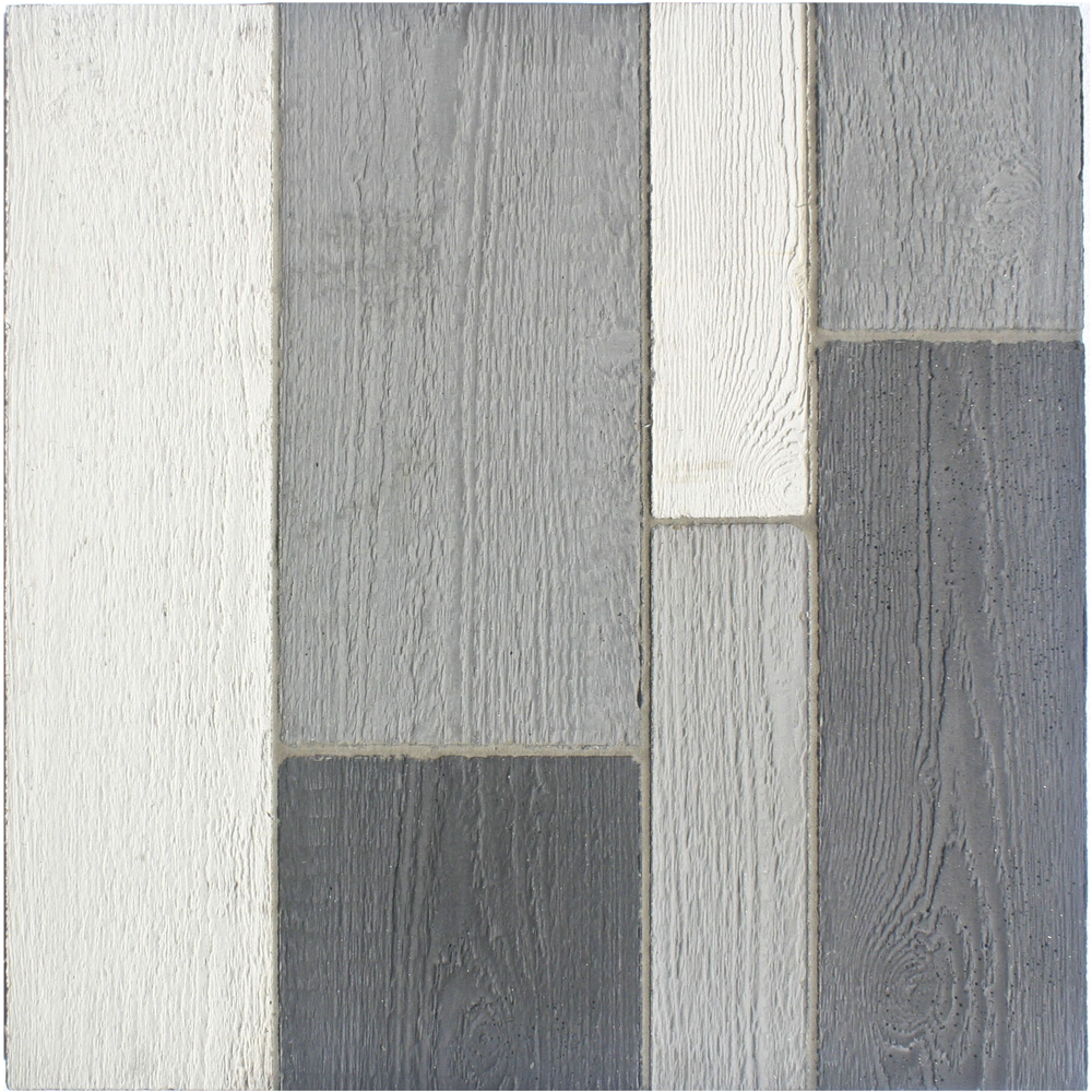GB76 Roman Wood Cladding-Early Gray, Natural Gray, Sidewalk Gray & Charcoal Gray