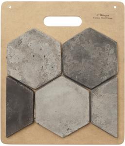 HB53 6'' Hexagon- Portland Blend
