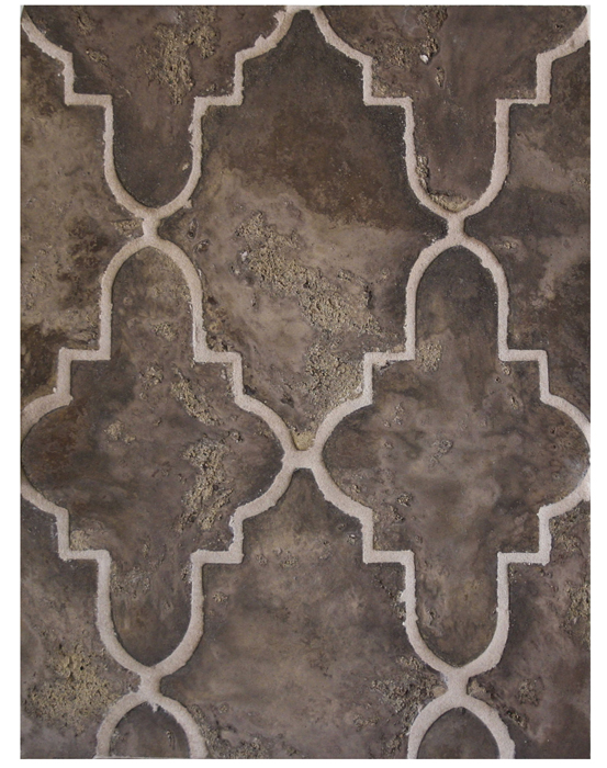 BB140*- Tuscan Mustard Limestone-*Available At Select Dealers--Grout Used: Laticrete 18 Sauterne