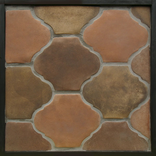 9x11 San Felipe Josie Blend(signature series)Laticrete 24 Natural Gray Grout