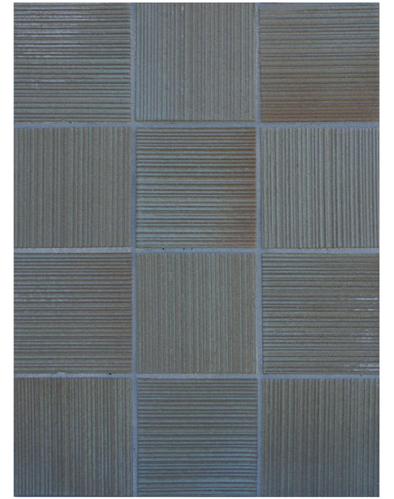 BB163 4x4 Corduroy-Elder Geen-Grout Used: Laticrete 53 Twilight Blue