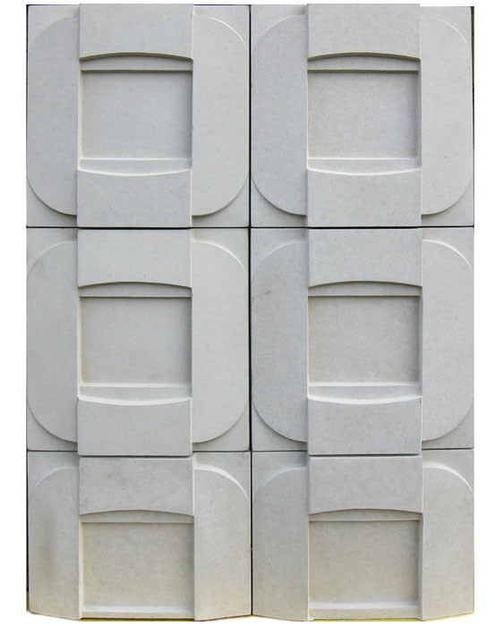 "BB27 6"" Buckle-Grout Used: Laticrete18 Sauterne"