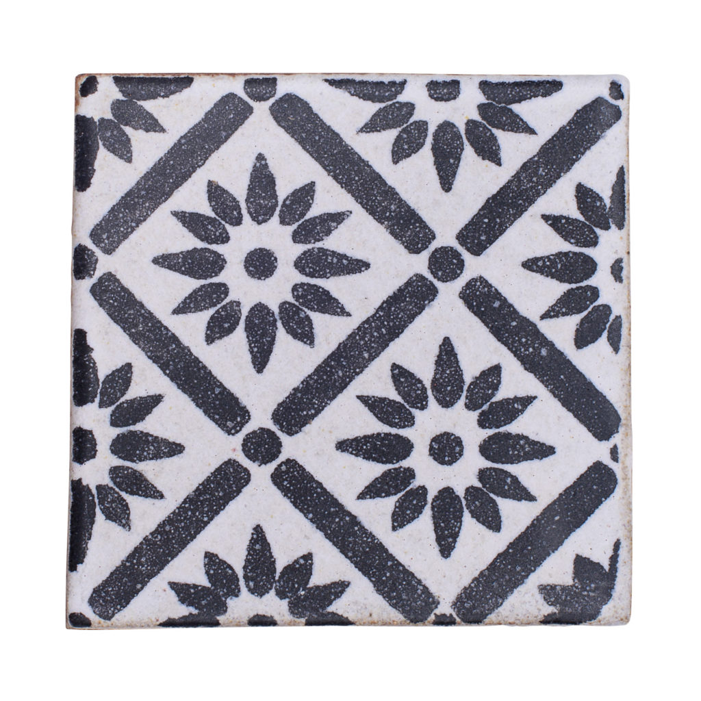 Silk Road Decorative High Fire Terra Cotta Tile