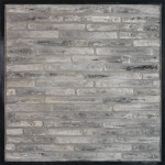 1x9 Villagio Antik Gray(premium series)Laticrete 24 Natural Gray Grout