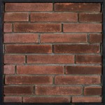 2x11 University Brick Red Flash(classic series)Laticrete 24 Natural Gray Grout