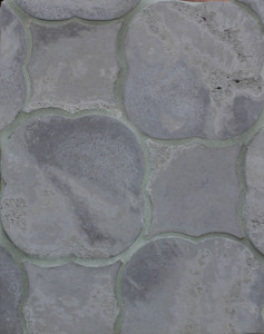 BB36 Arabesque Pattern 1 Charley Brown Limestone-Grout Used: Laticrete 24 Natural Gray