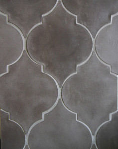BB34 Arabesque Pattern 5a-Charley Brown-Grout Used: Laticrete 24 Natural Gray