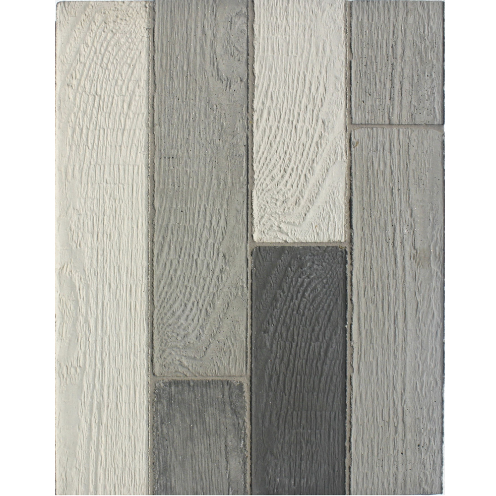 BB211 Roman Wood Cladding- Early Gray, Natural Gray, Sidewalk Gray & Charcoal Gray
