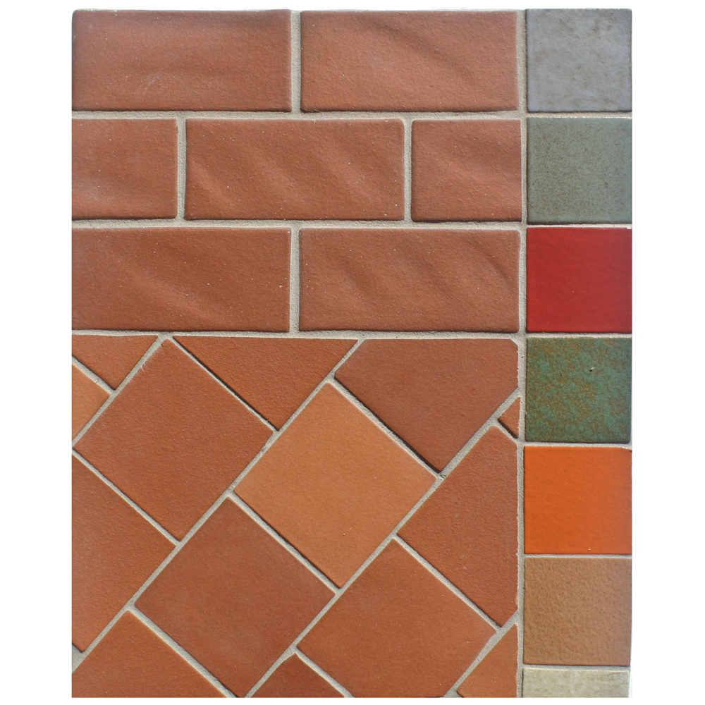 BB215 3x6 Oleson, 4x4 Field Tile-Red & 3x3 Color Chips