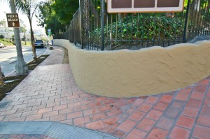 Custom Concrete-City of San Clemente Sidewalks