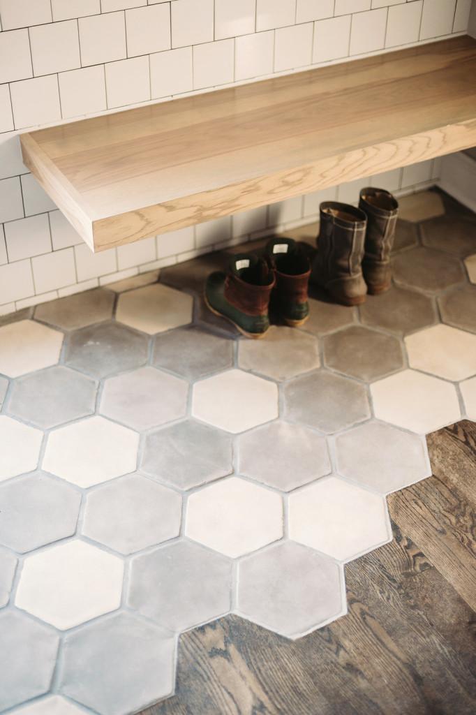 Concrete Tile Hexagon Rustic