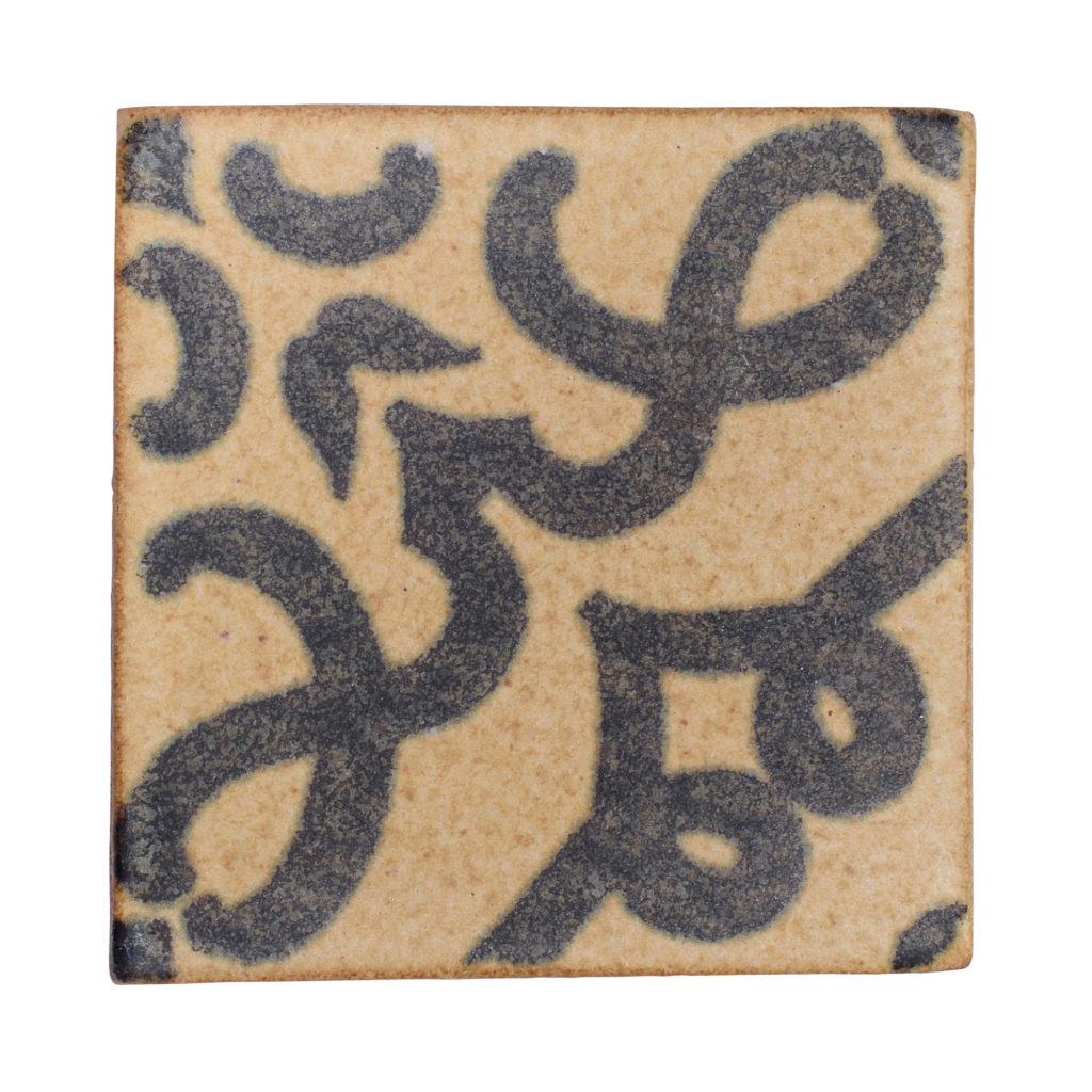 Silk Road Decorative High Fire Terra Cotta Tile
